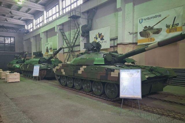 ВСУ получили пять отремонтированных танков Т-72