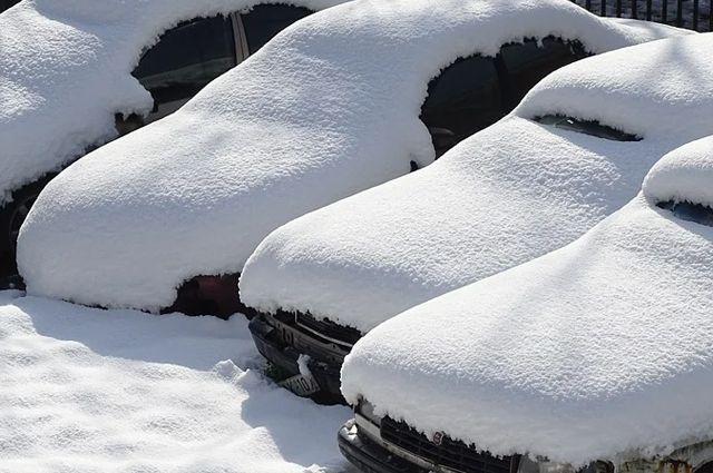 Местами снег