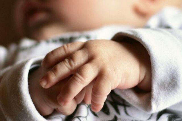 Рост новорожденного 61 см.