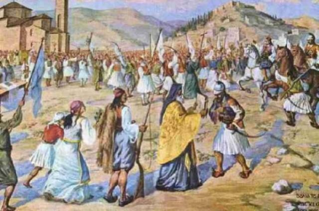 25 марта 1821 года потомки Эллады сбросили с себя османское иго.