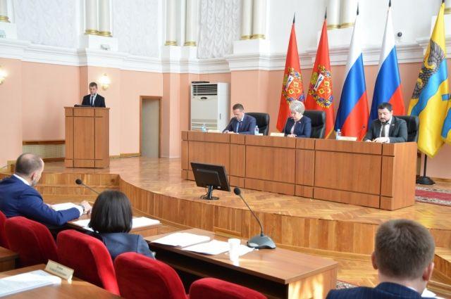 Депутаты городского Совета поддержали инициативу губернатора Дениса Паслера.
