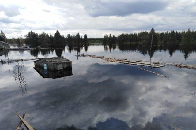 В зону подтопления в этом году попадает более 100 населённых пунктов.
