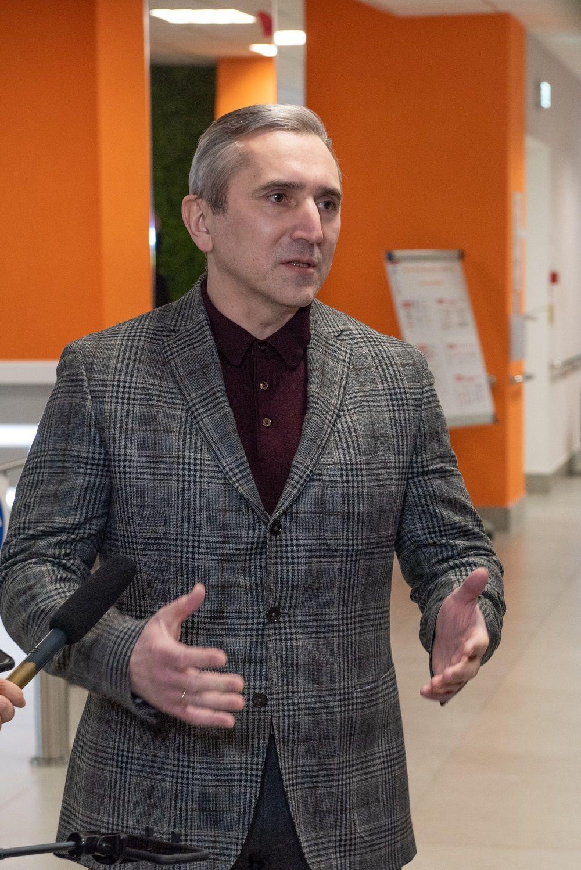 Рабочая поездка Владимира Якушева и Александра Моора в Тобольск, 2021.