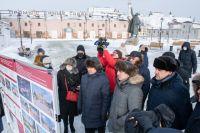 Александр Моор и Владимир Якушев находятся в рабочей поездке в Тобольске