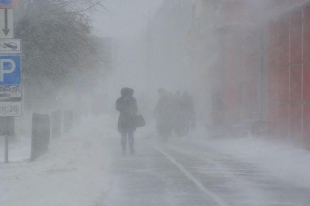 В Оренбургской области в ближайшие сутки, 27 февраля, прогнозируются неблагоприятные погодные условия.