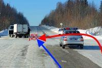ДТП произошло в Троицко-Печорском районе.