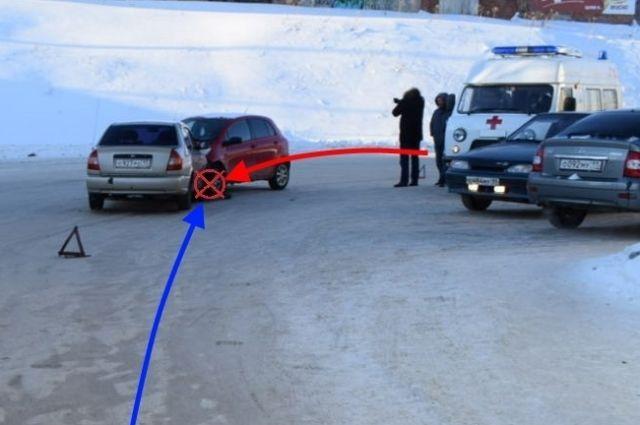 ДТП в Ухте произошло 26 февраля.