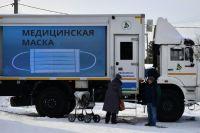Выездная диспансеризация в рамках акции «Автопоезд здоровья» в поселке Староуткинске Свердловской области.