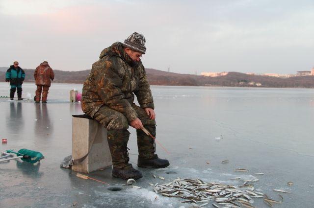 Любители зимней рыбалки рискуют своей жизнью, несмотря на предупреждения.