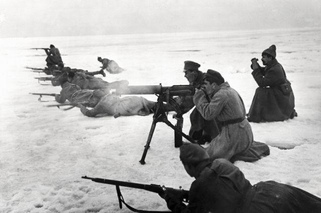 Кронштадтское восстание, март 1921 г.