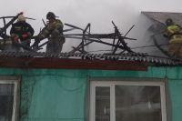 Четырехклассницу вывели из горящего дома