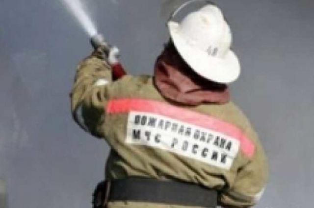 В Бузулуке во время движения по улице 9 Января загорелась «Газель».