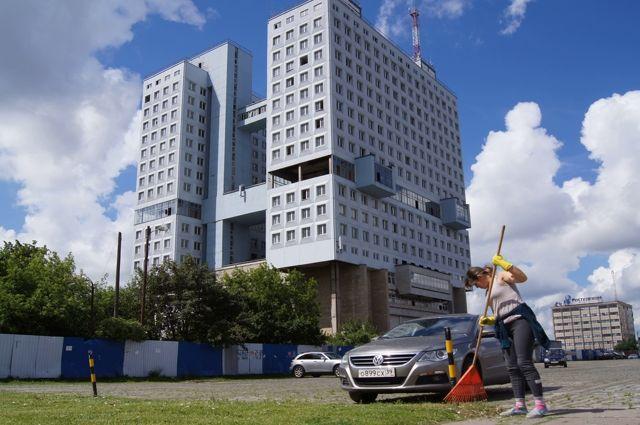 Власти заказали проект планировки территории вокруг Дома Советов