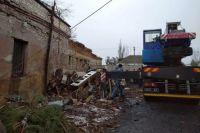 В Николаевской области на территории школы произошел взрыв.