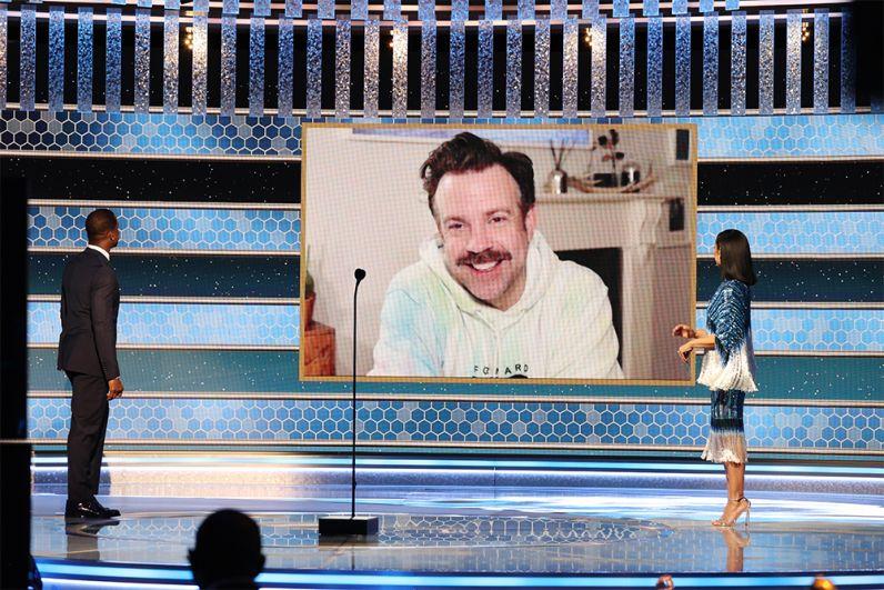 Лучший актер в мюзикле или комедии — Джейсон Судейкис («Тед Лассо»)