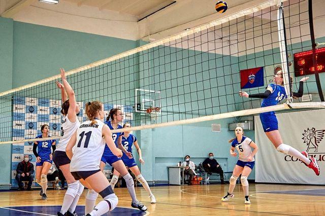 Калининградские волейболистки стали вторыми на первенстве России