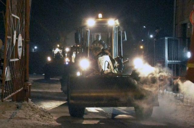 Региональные власти следят за уборкой снега в муниципалитетах.