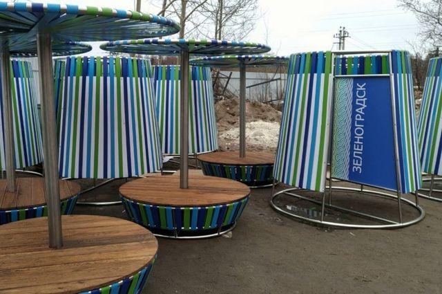 В Зеленоградске планируют увеличить пляжную зону