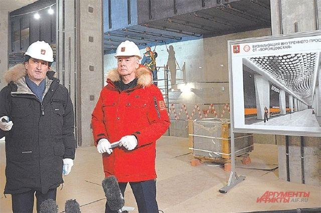 Станция «Воронцовская» Большой кольцевой линии будет оформлена в «космическом» стиле.