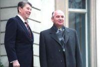 Михаил Горбачёв и Рональд Рейган, 1985 год