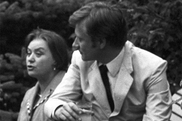 Мария и Андрей Мироновы. 1970 год.