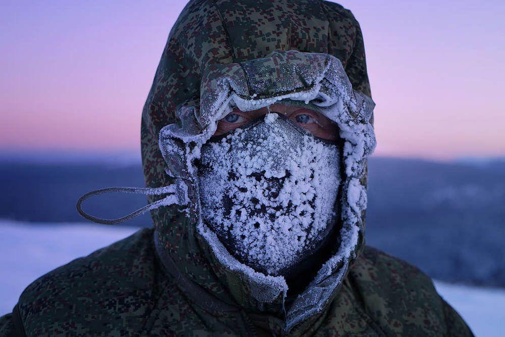 Участник экспедиции Игорь Путинцев