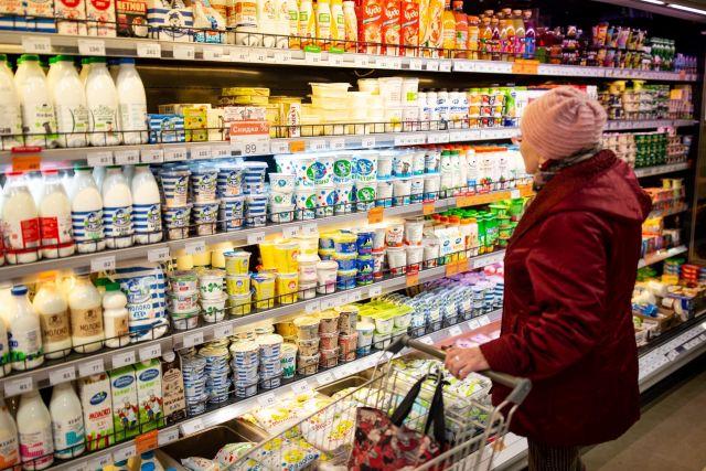 Молочная продукция в январе подешевела.
