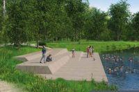 В этом году будет благоустроена зона отдыха у воды.
