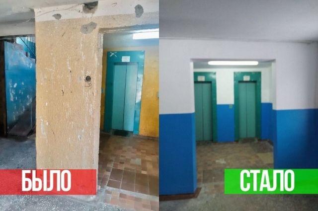 В Тюмени УК выполнила ремонт дома после обращения собственника в ГЖИ