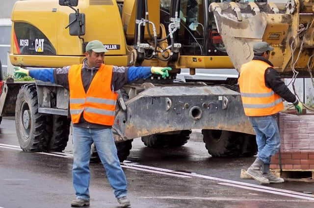 В дорожном строительстве острая нехватка работников.