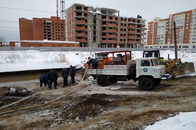 Водоснабжение в Дёмском районе Уфы полностью восстановлено