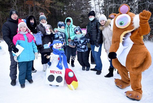 Предприятие зимой приняло участие в благотворительной акции