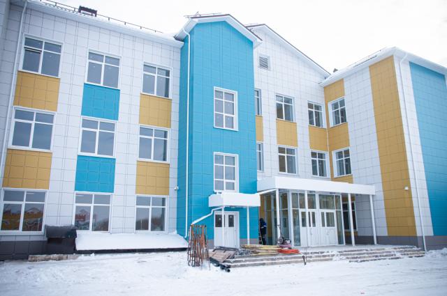Новая школа в Пригородном откроется не раньше, чем к концу весны.