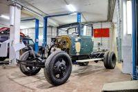 В Оренбурге для участия в Параде Победы реставрируют грузовик 1943 года выпуска.