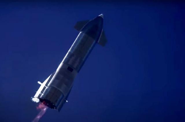 Пуск нового прототипа корабля Starship от SpaceX экстренно отменили