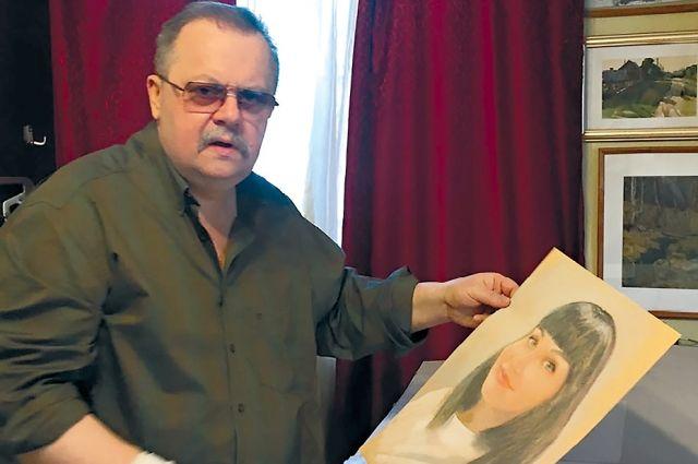 Из-за пандемии Игорь Башмаков всё чаще работает дома, а не в мастерской.