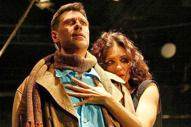 В «Мастере и Маргарите» музя-театра «Булгаковский дом» Ситников играл с Екатериной Климовой.