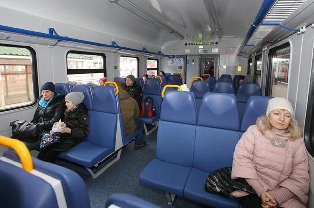 Количество вагонов электропоездов на популярных маршрутах увеличат.
