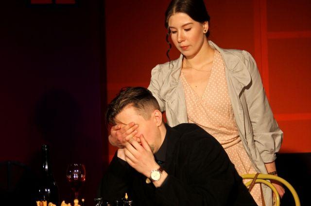 Маргарита Волкова в роли Софи в спектакле  «Эвитанго».