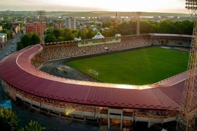 В Тернополе переименовали городской стадион.