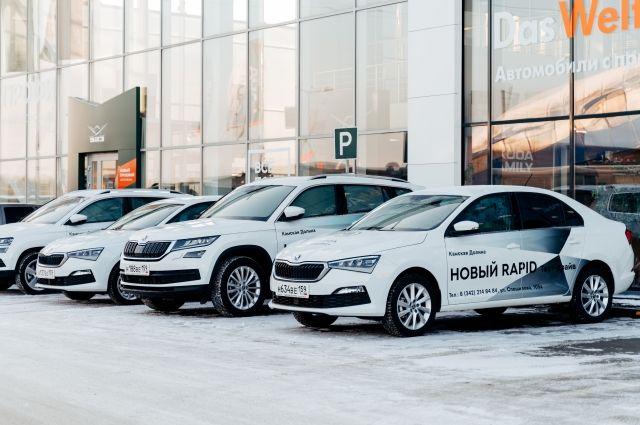 До 31 марта можно купить популярный семейный внедорожник KODIAQ с выгодой до 215 100 рублей.