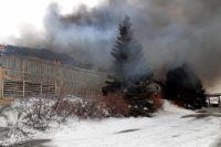 Прокуратура Новотроицка инициировала проверку по факту возгорания городского мясокомбината.
