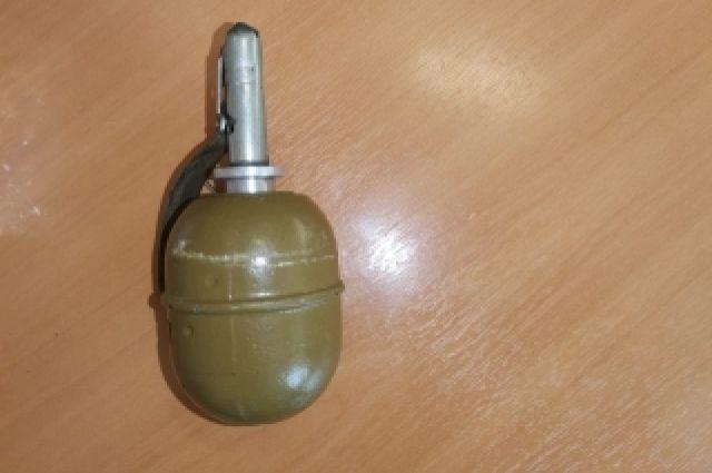 Изъятый снаряд направили на экспертизу, которая показала, что граната является муляжом.