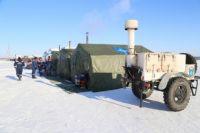 На трассах Оренбуржья в условиях непогоды работают 11 пунктов обогрева.