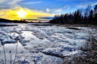 Минимальная температура за всю зиму в крае составила -43.6°.
