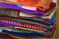 Мастерицы из Тюмени поставили рекорд, связав самый длинный шарф в России