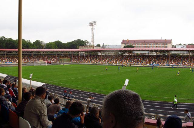 Тернопольский городской стадион.