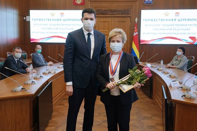 Светлана Сивкова стала Почетным гражданином Калининградской области