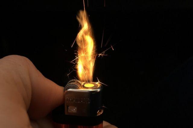В Башкирии начнут штрафовать за продажу газовых зажигалок детям