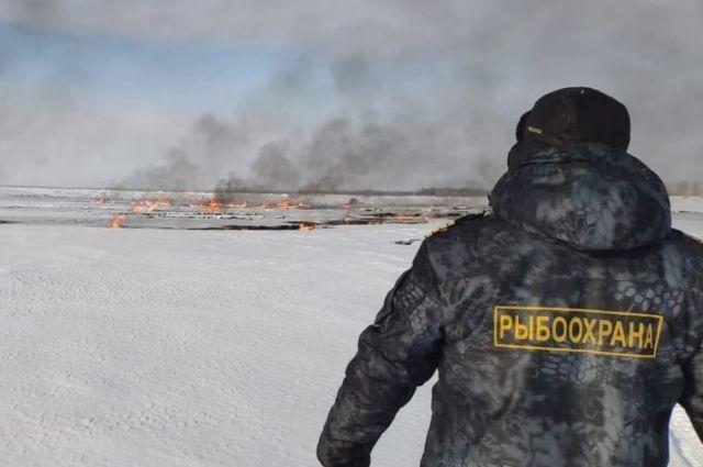 На месте горения и на нескольких участках в радиусе от 15 метров до 2 километров от него специалисты взяли пробы атмосферного воздуха